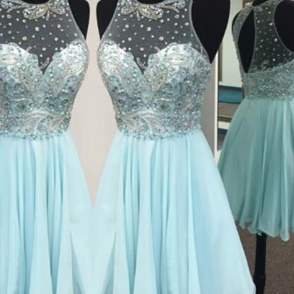 Elegant Homecoming Dresses,A-line H..