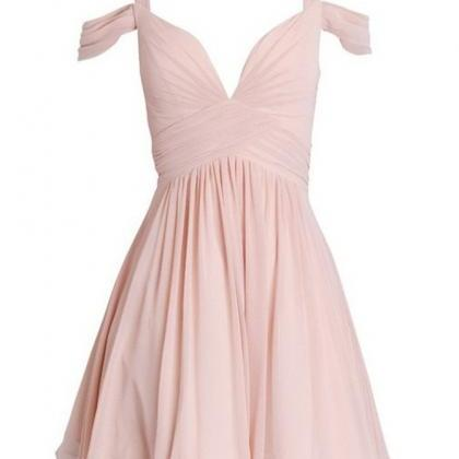 A-line Homecoming Dresses,Pink Home..